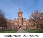 Stock photo college building in fall 238756393