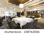 luxury restaurant interior | Shutterstock . vector #238762006