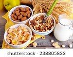 Various Sweet Cereals In...