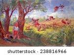 the kansas row. sen. stephen... | Shutterstock . vector #238816966
