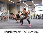 sport  bodybuilding  lifestyle... | Shutterstock . vector #238825903