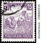 hungary   circa 1916  a stamp... | Shutterstock . vector #238860514