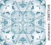 Abstract Square Seamless Blue...