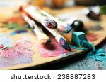 beautiful still life with... | Shutterstock . vector #238887283