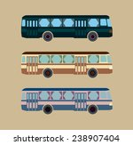 retro bus | Shutterstock .eps vector #238907404