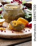the beef liver pate with... | Shutterstock . vector #238907530