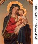 Постер, плакат: The Madonna paint on