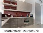 modern gourmet kitchen interior | Shutterstock . vector #238935070