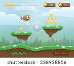 illustration of mobile app game ...