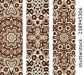 abstract hand drawn vintage... | Shutterstock .eps vector #238945306