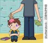 Bullying  Vector Illustration ...