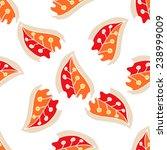 multicolor leaves seamless...   Shutterstock .eps vector #238999009