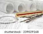 drawings and drawing tools | Shutterstock . vector #239029168