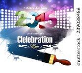 new year celebration fashion | Shutterstock . vector #239038486