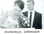 Wedding Ceremony In A Registry...