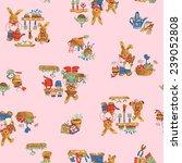 pattern of rabbit | Shutterstock . vector #239052808