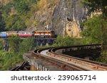 trains running on death... | Shutterstock . vector #239065714