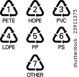 recycle signals | Shutterstock .eps vector #23911375
