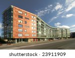 apartment building located at... | Shutterstock . vector #23911909
