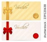 voucher  gift certificate ... | Shutterstock . vector #239120638