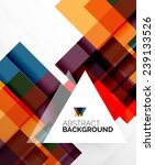 square shape abstract layouts ... | Shutterstock .eps vector #239133526