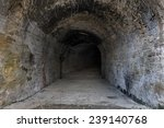 Old Abandoned Tunnel In The...