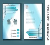 professional business flyer... | Shutterstock .eps vector #239144683