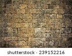 Grunge Stone Wall Pattern .