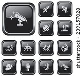 space button set | Shutterstock .eps vector #239157028