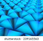 triangle crystal wall abstract...   Shutterstock . vector #239165563