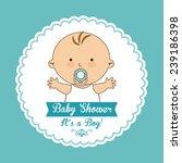 baby shower design   Shutterstock .eps vector #239186398