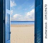 new beginings concept    open... | Shutterstock . vector #239229670