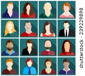 people icons | Shutterstock .eps vector #239229898