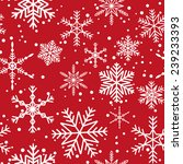 seamless pattern with white... | Shutterstock . vector #239233393