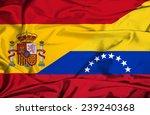 waving flag of venezuela and... | Shutterstock . vector #239240368