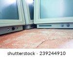 Old Vintage Computer Monitor...