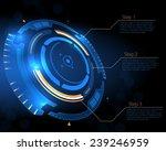 sci fi futuristic user... | Shutterstock .eps vector #239246959