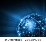 best internet concept of global ...   Shutterstock . vector #239254789