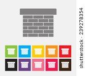 chimney icon   vector | Shutterstock .eps vector #239278354
