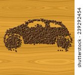 Coffee Car Generated Texture...