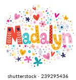 madalyn   Shutterstock .eps vector #239295436