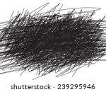 scribble black background ... | Shutterstock .eps vector #239295946
