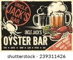 Uncle Jacks Raw Fish Bar Poster....