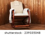 rocking chair covered with... | Shutterstock . vector #239335048