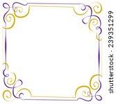 multilayer violet yellow... | Shutterstock . vector #239351299