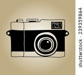 camera sketch | Shutterstock .eps vector #239359864