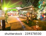 Outdoor Wedding Place At Night