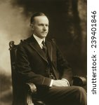 Small photo of Massachusetts Governor Calvin Coolidge (1872-33), would become the President in 1923