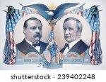 Постер, плакат: 1884 Democratic campaign poster