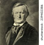 Richard Wagner (1913-1883) German composer composed epic operas based on German myths incorporating revolutionary musical expression.